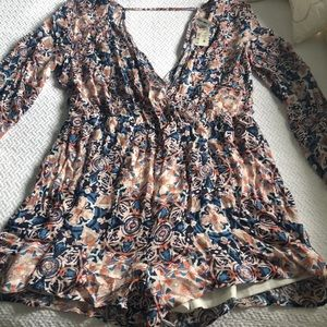 Aeropostale romper.  Large. NEW WITH TAGS